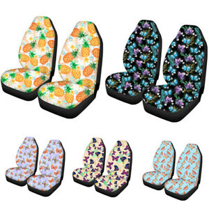 Universal Butterfly Car Front Seat Covers Protector For Auto Suv Women Girls