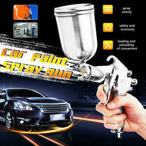 3 0mm Pro Hvlp Air Spray Gun Auto Car Paint Gravity Feed Gauge 400ml Nozzle Cup