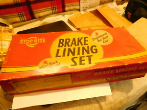 Ford Model A And Aa Truck Brake Shoe Lining Set With rivets 1928 34