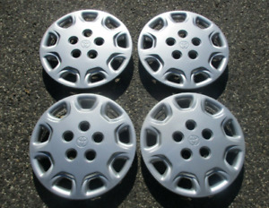 Factory Original 1993 To 1999 Toyota Camry 14 Inch Hubcaps Wheel Covers