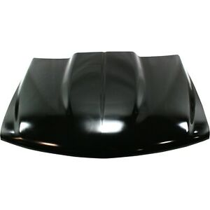 Cowl Hood For 99 2002 Chevrolet Silverado 1500 Primed 2 In Center Gap