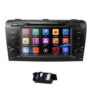 Fit Mazda 3 2004 2005 2006 2007 2008 2009 Car Stereo Gps Map Radio Dvd Player Bt