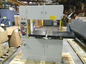 Vectrax Variable Speed Vertical Bandsaw 39 3 4 Throat Capacity 2 Hp 220v 3 Ph
