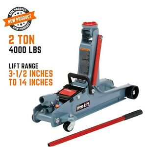 Car Floor Jack Hydraulic Low Profile 3 Ton Lift Auto Heavy Lifting Steel Garage