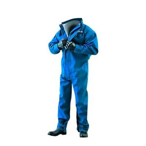 Ansell Alphatec Blue Coverall Nomex Fabric Medium 66 677 Each