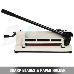 Heavy Duty 17 Inch Paper Cutter A4 B5 A5 B6 B7 Paper Scrap Metal Base Guillotine