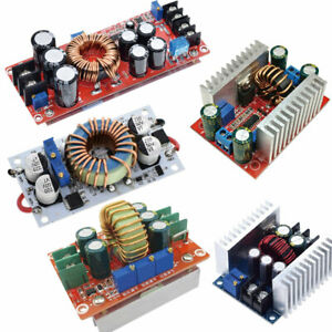 10 12 15 20a 150 250 300 400 1200w Dc dc Step Up Step Down Buck Boost Converter