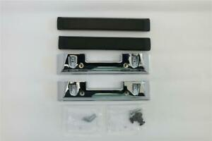 Mustang Arm Rest Base And Black Arm Rest Pad Kit Includes Hardware 1964 1966
