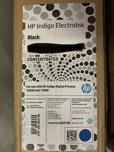 Hp Indigo Electroink Black 10000 12000 brand New In Box