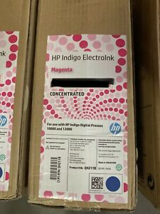 Hp Indigo Electroink Magenta 10000 12000 brand New In Box