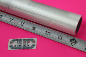1 1 2 Od X 1 8 Wall 6061 T6 Aluminum Round Tube 12 Long Extuded Seamless