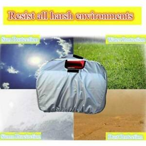 All Weather Silver Polyester Dust Cover Accessories For Honda Generator Eu2000i