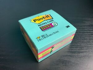 Post it Notes Cube Super Sticky 3 In X 3 In 360 Sheets 2027 ssafg