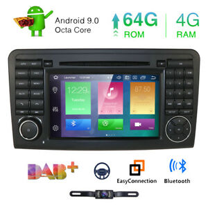 7 Android10 Car Dvd Stereo Radio Gps 8 Core For Mercedes Benz Gl320 350 450 500