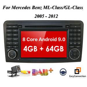Android 10 Car Dvd Gps Player Ips Dsp 4 64gb For Mercedes Benz X164 W164 Ml Gl