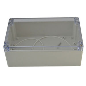 Waterproof Electronic Junction Project Box Enclosure Case Cover Clear 200 120mm