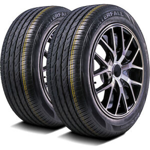 2 New Waterfall Eco Dynamic 225 40r18 92w Xl A s Performance Tires