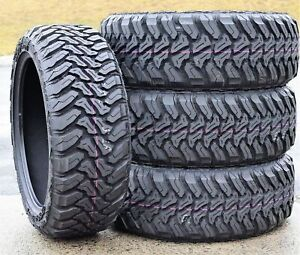 4 New Accelera M T 01 Lt 35x12 50r17 Load E 10 Ply Mt Mud Tires