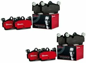 Brembo Front Rear Ceramic Brake Pads Kit For Ford Mustang 15 19 Premium Brakes