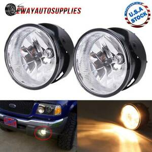 For 2008 2011 Ford Ranger Expedition Bumper Fog Lights Lamps Pair Left Right Dot