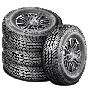 4 Michelin Ltx A T2 Lt 275 70r18 Load E 10 Ply At Dueler Take Off New Tires
