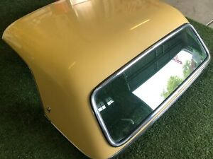 1955 Ford Thunderbird T bird Hard Top non porthole With Ford Crest Emblems