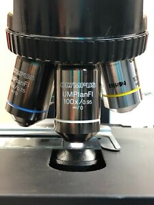 Olympus Umplanfl 100x 0 95 0 Microscope Objective Rms Thread 105 Refund
