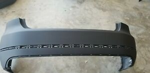 2012 2013 2014 Volkswagen Passat Rear Bumper Cover With Molding Holes Genuine