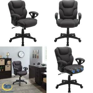 Big Tall Fabric Manager Office Chair 300 Lb Gray 40 5 Heavy Seat Cushion Mesh
