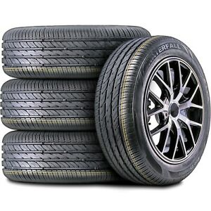 4 New Waterfall Eco Dynamic 215 55r16 93w High Performance All Season Tires