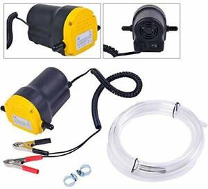 12v Fluid Oil Diesel Extractor Scavenge Change Transfer Pump For Car Boat Atv