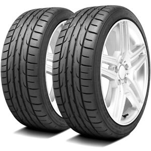 2 New Dunlop Direzza Dz102 245 40r17 91w High Performance Tires
