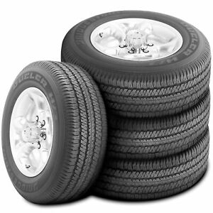 4 New Bridgestone Dueler H T 684 Ii 255 70r18 112t Dealer Take Off New