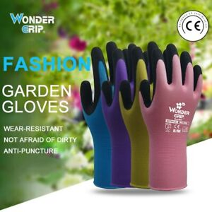 10pairs Garden Nitrile Gloves Universal Household Cleaning Gloves For Pruning