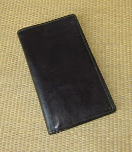 Pocket Day timer Black Simulated Leather Wire Bound Planner Cover