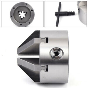 Durable 4 100mm 6 claw Self centering Lathe Chuck Cnc Milling Drilling Machine