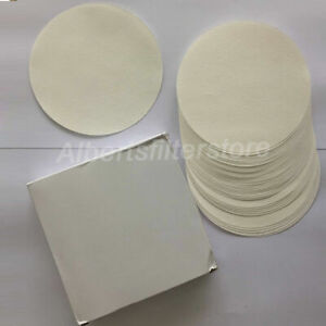 Pack Of100 Quantitative Filter Paper Circles Lab Supply Ashless Cellulose Filter