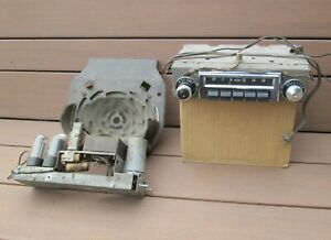 1955 1956 Chevrolet Factory Am Pushbutton Radio W Speaker Delco Belair Nomad