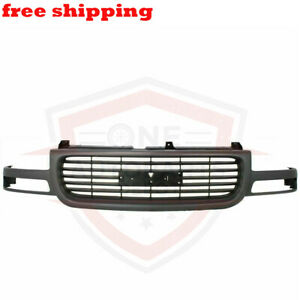 New Grille Assembly Gray Frame Black Insert For 1999 2006 Gmc Yukon xl Gm1200429