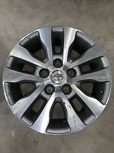 20x8 Used 2015 Limited Tundra Factory Rims