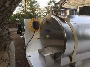 200 Gallon Stainless Steel Tank Insulated