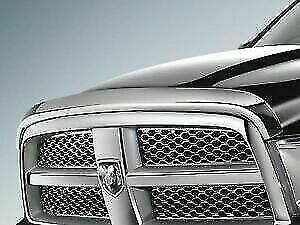 2013 18 Dodge Ram 1500 Chrome Hood Air Deflector Oem 82213793