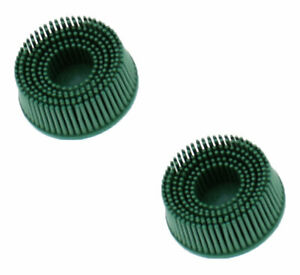 3m 18730 Roloc Bristle Disc Grade 50 2 Pack