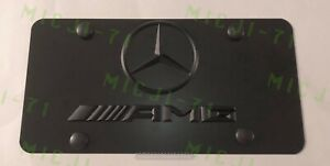 Mercedes Benz Amg Front Auto Heavy Duty Vanity Stainless License Plate Frame