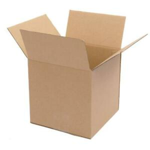 100 6x6x6 Premium Cardboard Paper Boxes Mailing Packing Shipping Box