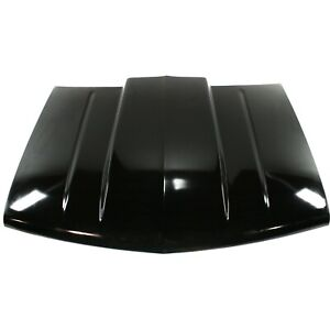Cowl Hood For 88 98 Chevrolet K1500 Primed 1st Design 2 In Raised