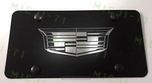 Cadillac Front Auto Heavy Duty Vanity Stainless Metal License Plate Frame