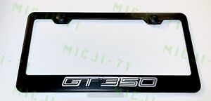 3d Gt 350 Mustang Emblem Stainless Steel License Plate Frame Rust Free