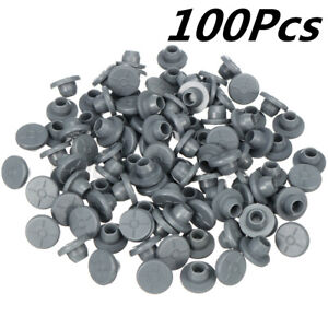 100pcs Rubber Stoppers Self Healing Injection Ports Inoculation 7 2mm Opening