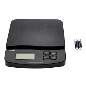 Postal Scale Digital Shipping Electronic Mail Packages Capacity Of 30kg 66lb Dr